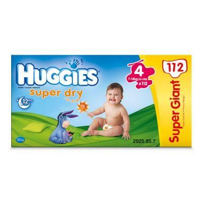 Huggies Super Dry T4 7 14 Kg Huggies Avis
