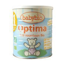 Lait Babybio Nourrisson Optima 1