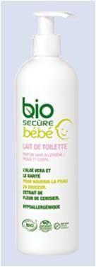 lait de toilette b 233 b 233 380 ml bio secure avis