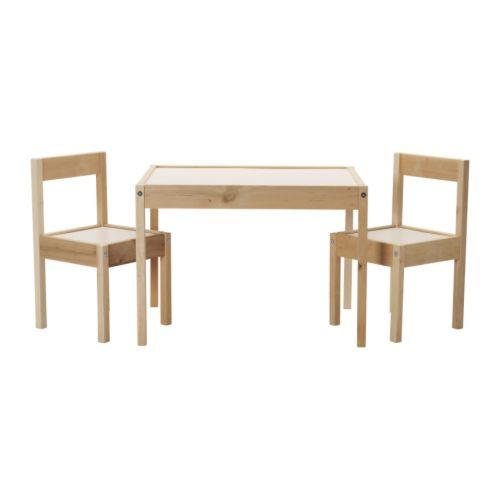 Deux Chaises Enfant Latt IkeaAvis Table Et wkXZTliOPu