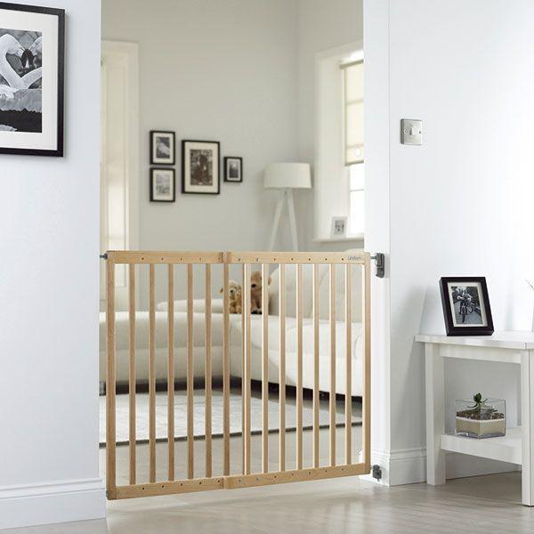 barri re de s curit extensible en bois lindam avis. Black Bedroom Furniture Sets. Home Design Ideas