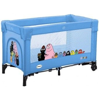 lit pliant b camping barbapapa foppapedretti avis. Black Bedroom Furniture Sets. Home Design Ideas