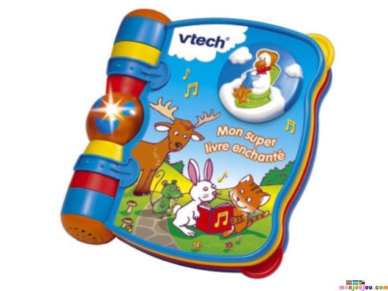 mon super livre enchant vtech avis. Black Bedroom Furniture Sets. Home Design Ideas
