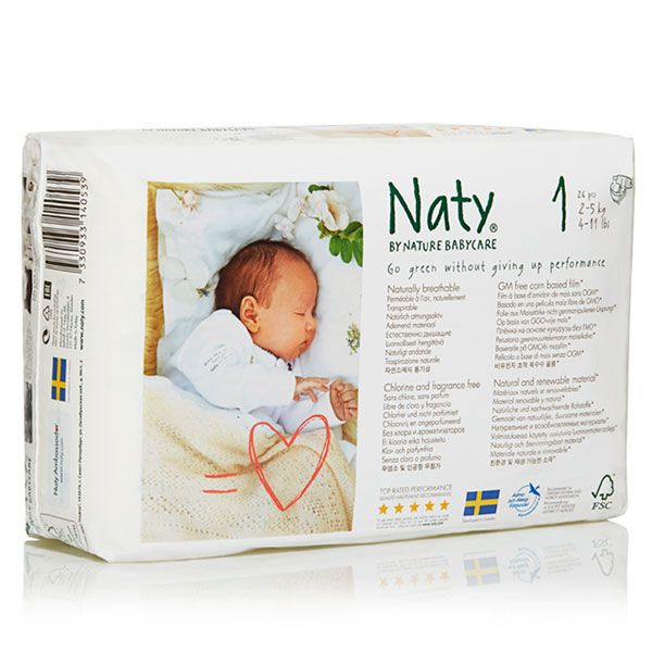 Couches Naty Ecologiques Taille 1 Nature Babycare Avis