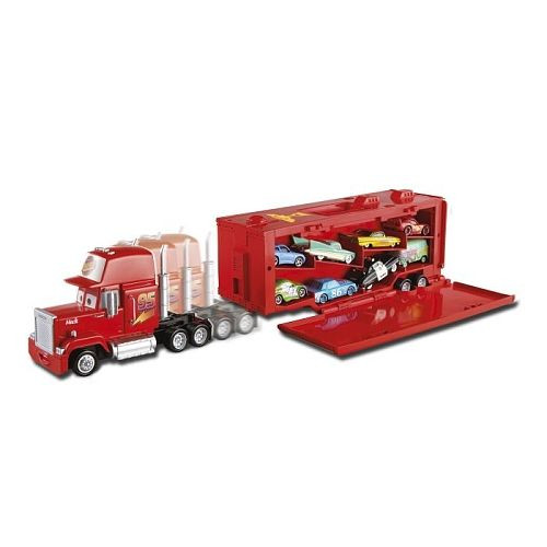 camion transporteur cars mattel avis. Black Bedroom Furniture Sets. Home Design Ideas