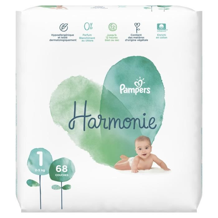Couches Harmonie Pampers Avis