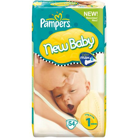 Couches new baby nouveau n t1 2 5 kg pampers avis - Couche naissance pampers ...