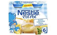 NESTLÉ - P'tit pot Lotte 2x200g