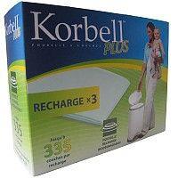 Boîte de 3 recharges pour poubelle 26L
