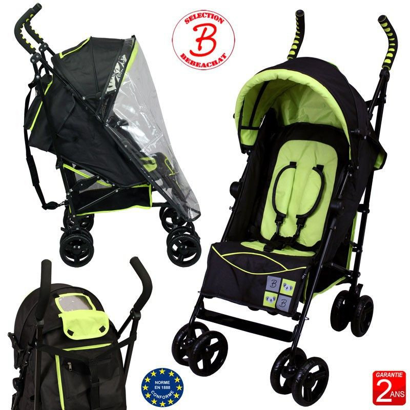 Poussette canne multi positions bebeachat bebe achat avis - Poussette canne legere inclinable ...