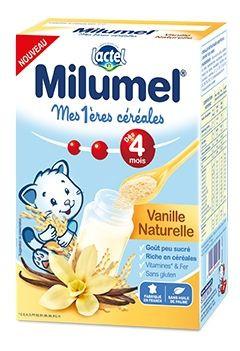 Mes 1 res c r ales infantile milumel vanille naturelle - Cereales bebe 5 meses ...