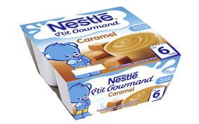 P'tit Gourmand Caramel (4x100 g)