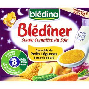 Blediner soupe compl te du soir farandole l gumes - La farandole du gout embrun ...