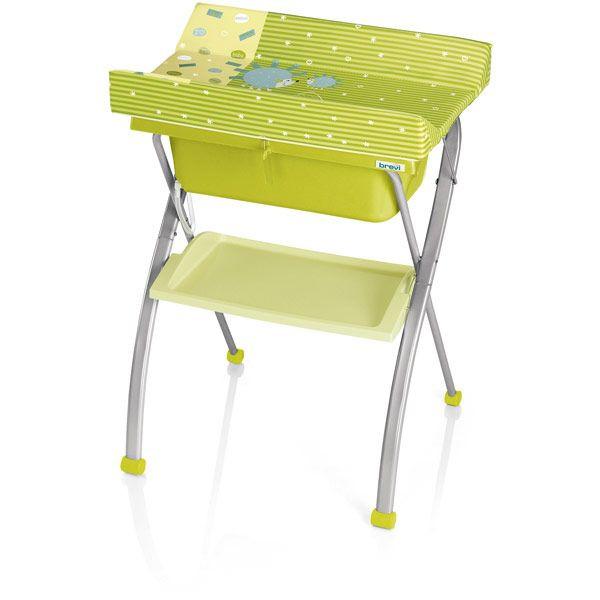 Table langer avec baignoire lindo brevi avis - Table a langer en bois avec baignoire ...