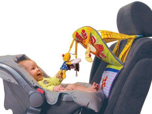 Tableau d 39 eveil de voiture taf toys avis - Jouet pour occuper bebe voiture ...