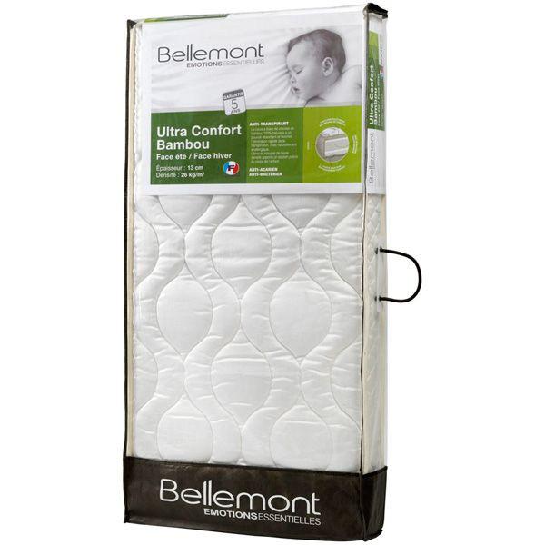 matelas b b ultra confort bambou climatis bellemont avis. Black Bedroom Furniture Sets. Home Design Ideas