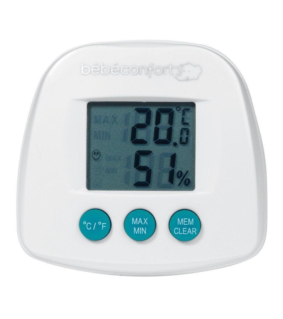 Thermom tre hygrom tre bebe confort avis for Thermometre de chambre bebe
