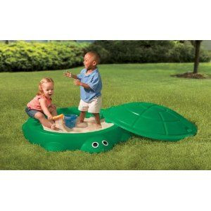 Bac sable tortue little tikes avis - Bac a sable bois refermable ...