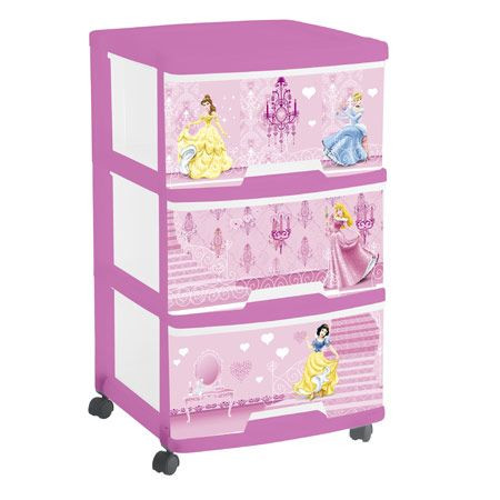 tour de rangement 3 tiroirs princess curver avis. Black Bedroom Furniture Sets. Home Design Ideas