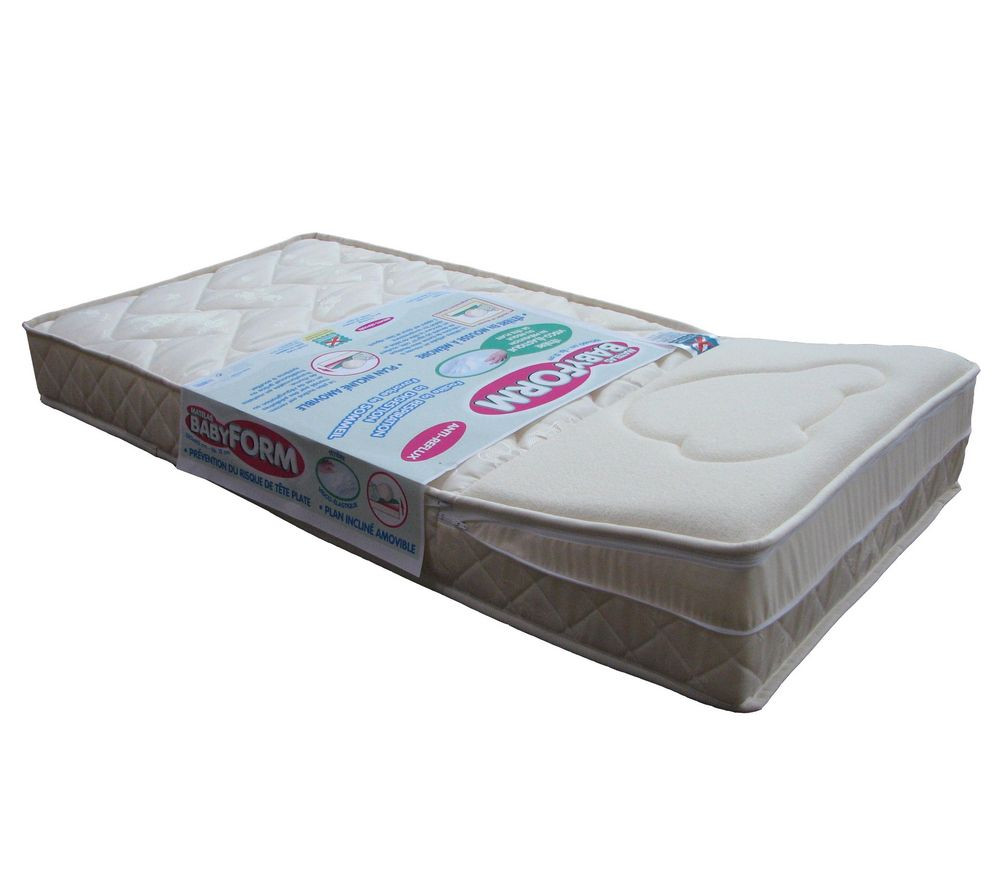 matelas b b avec plan inclin babyform carrefour avis. Black Bedroom Furniture Sets. Home Design Ideas