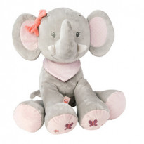 Peluche éléphant Adèle & Valentine