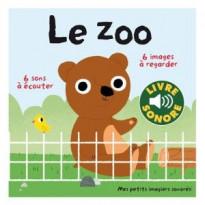 Livre sonore imagier Le zoo
