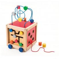 Cube boulier d'activités à tirer