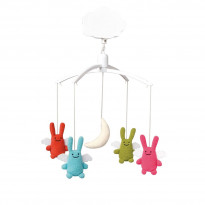 Mobile musical Ange Lapin