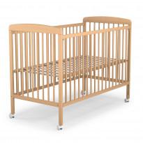 Lit bébé à barreaux 60 x 120 cm