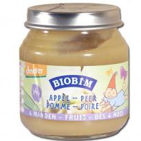 Biobim - Petit pot Fruits : Pommes-Poires - dès 4 mois
