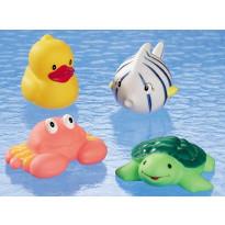 Lot de 4 petits animaux marins