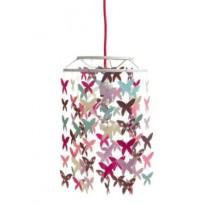 Decoration Abat-jour papillons fille