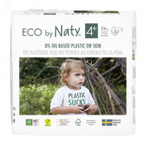 Couches Naty écologiques taille 4+
