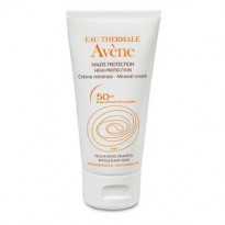 Crème solaire haute protection spf50