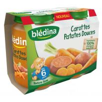 Pot Purée Carottes Patates douces 2x200g