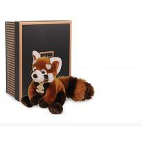 Doudou et Compagnie Panda Rouge Les Authentiques Collection Prestige