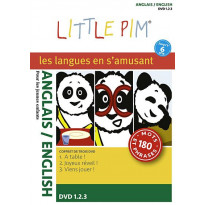 Coffret 3 DVD Langues Little Pim