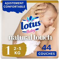 Couches Lotus Baby Natural Touch