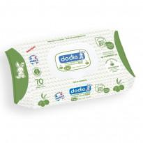 Lingettes nettoyantes à l'huile d'olive bio 3 en 1