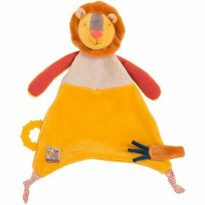 Doudou attache sucette Lion - Les Papoum