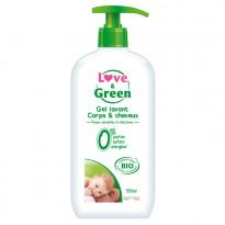 Gel Lavant Corps & cheveux Bio Sans Parfum