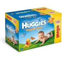 HUGGIES Super-Dry T3 4-9 kg