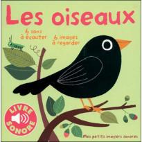 Livre sonore Les oiseaux