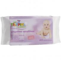 Lingettes bébé sensitives Les Tilapins