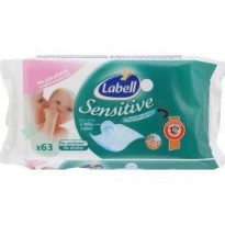 Lingettes sensitive (x63)