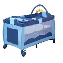 Lit Parapluie avec plan à langer et jouets