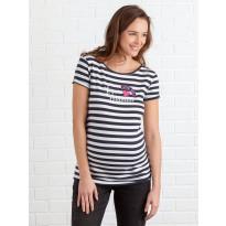 T-shirt mariniere de grossesse