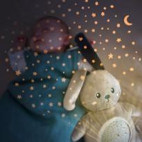 Projecteur d'étoiles peluche Mimi Bunny