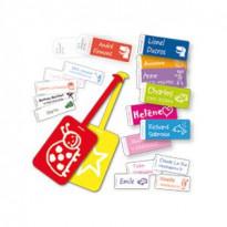 Etiquettes personnalisées pack Crèche