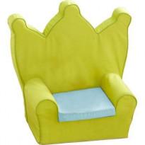 Fauteuil roi couronne